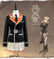 2017 New Clothing Made Anime Song Of Time Project Cos Gloria Vella Costume Halloween Party Cosplay