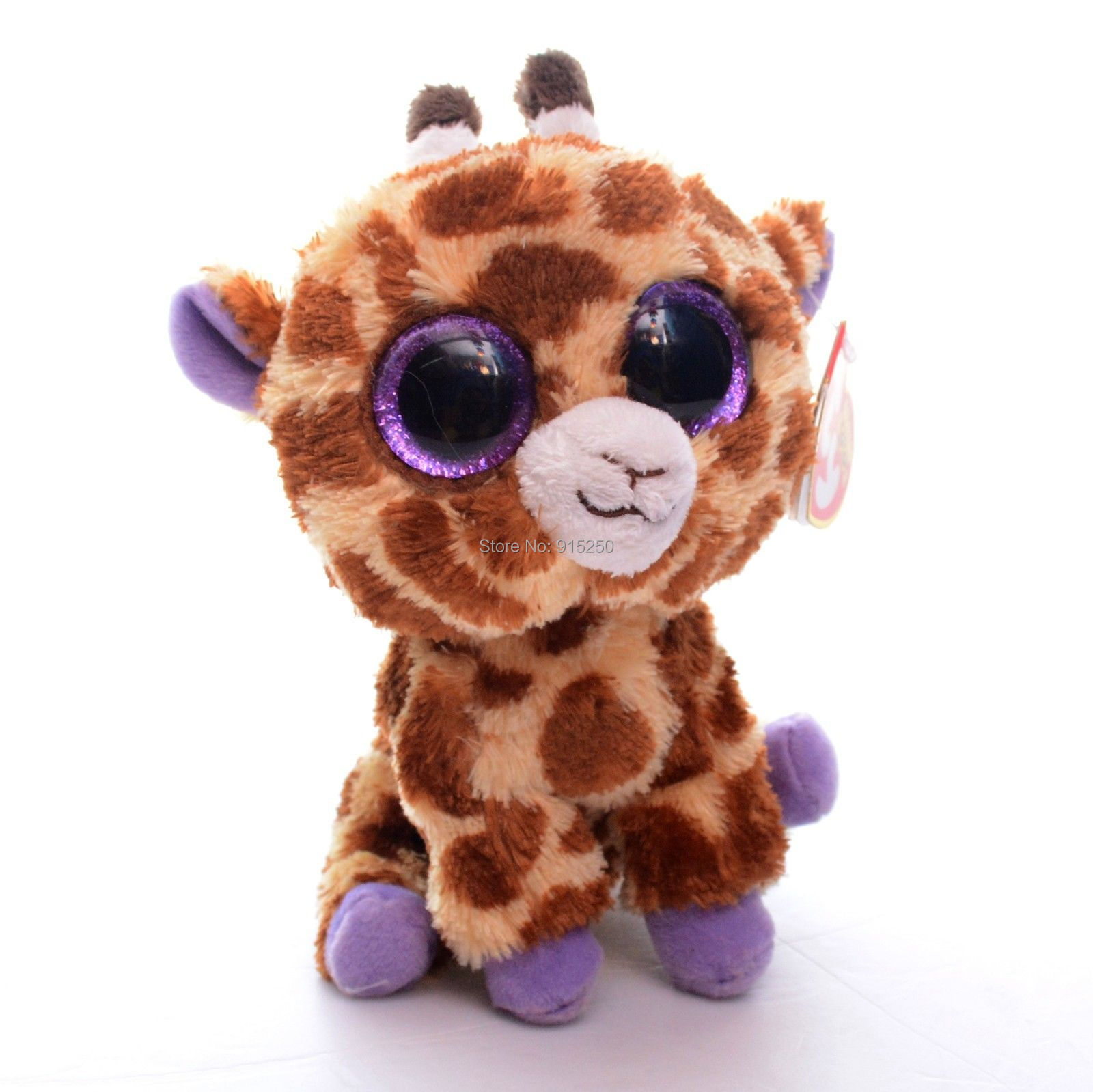 free shipping 5 original ty collection brown safari giraffe plush