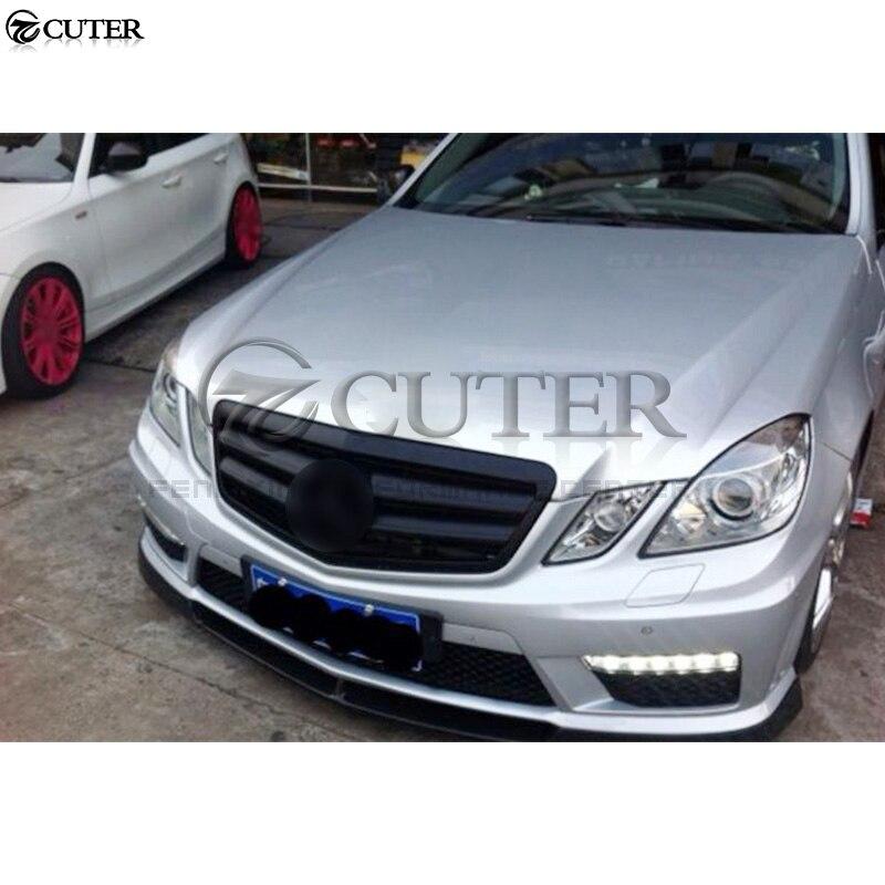 Mercedes Benz 07-13 W221 S63 S65 10-13 W212 E63 Conversion Body Kit Bumper Tips