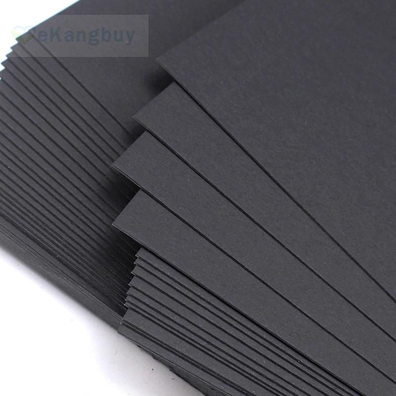 a4 a5 black cardboard 250g 300g 400g card paper cardstock