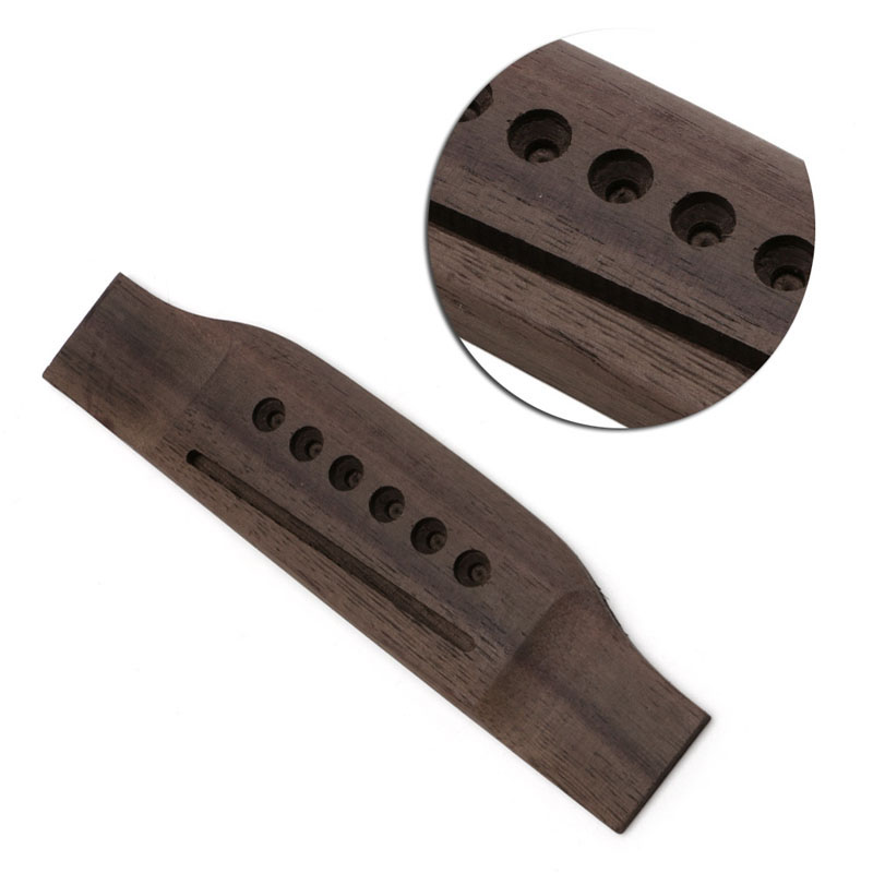 1pc guitar parts saddle thru guitar bridge for acoustic guitar rosewood guitar accs in guitar. Black Bedroom Furniture Sets. Home Design Ideas