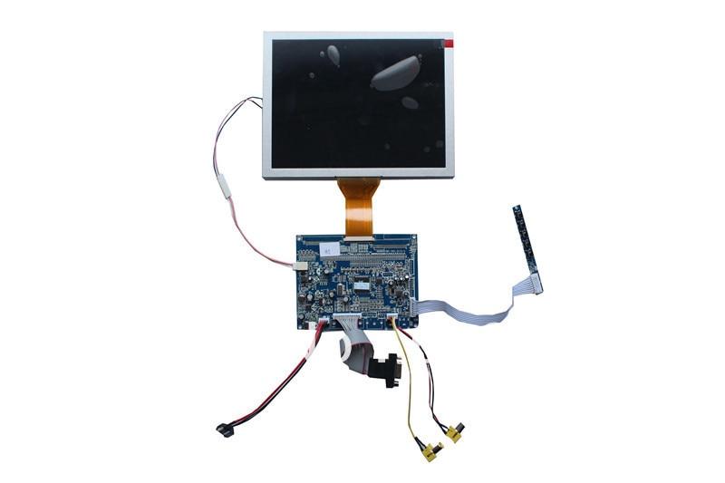 VGA +AV   LCD main  board support AT080TN52 8 inch LED panel видеорегистратор artway av 711 av 711