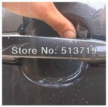 Dongzhen Universal 8X Car Door Handle Scratch Guard Protector Film Car Styling Handle Paint Scratches Protective sticker Vinyl