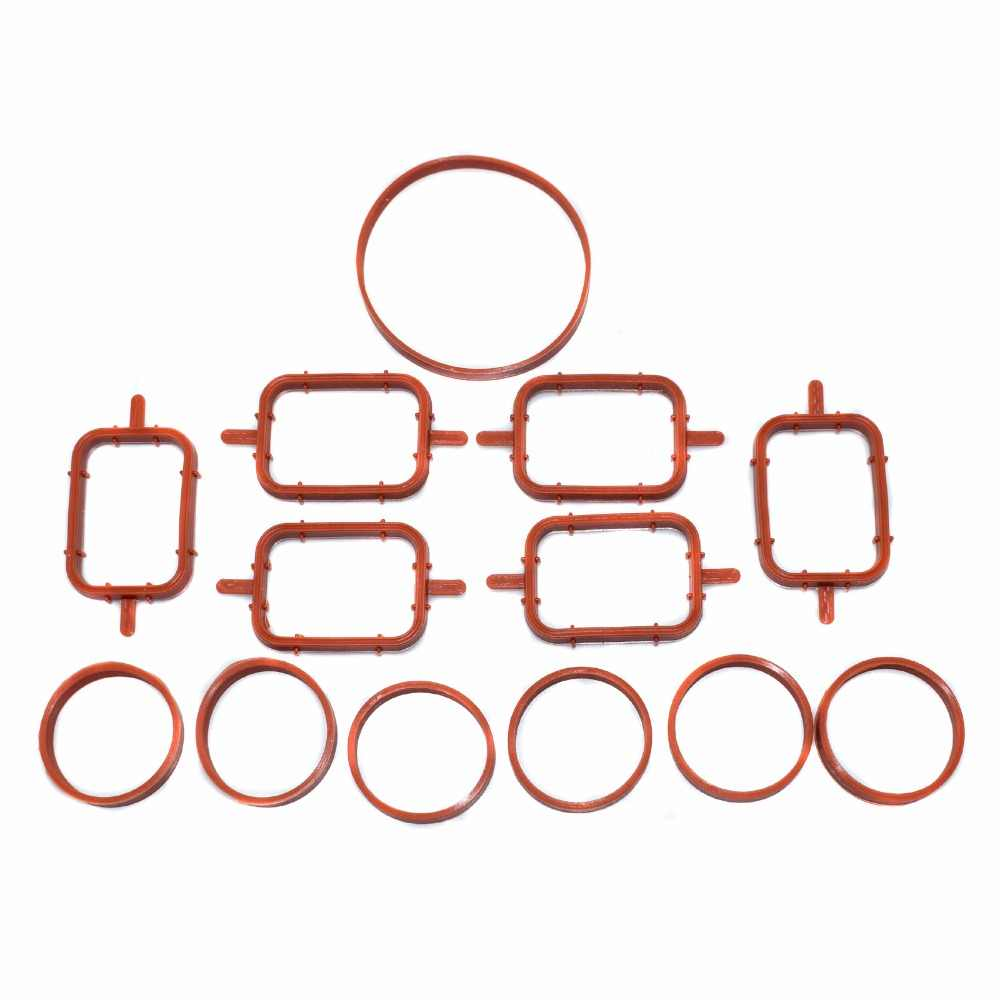 medium resolution of  isance engine intake manifold cylinder gaskets gasket seal set for bmw m57 oem 11617790198 11612246945