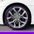 8 m carro proteção chrome roda Rim Grille clipes, quadro de luz decoração tiras de Colisão para chevrolet equinox taho faísca cruz