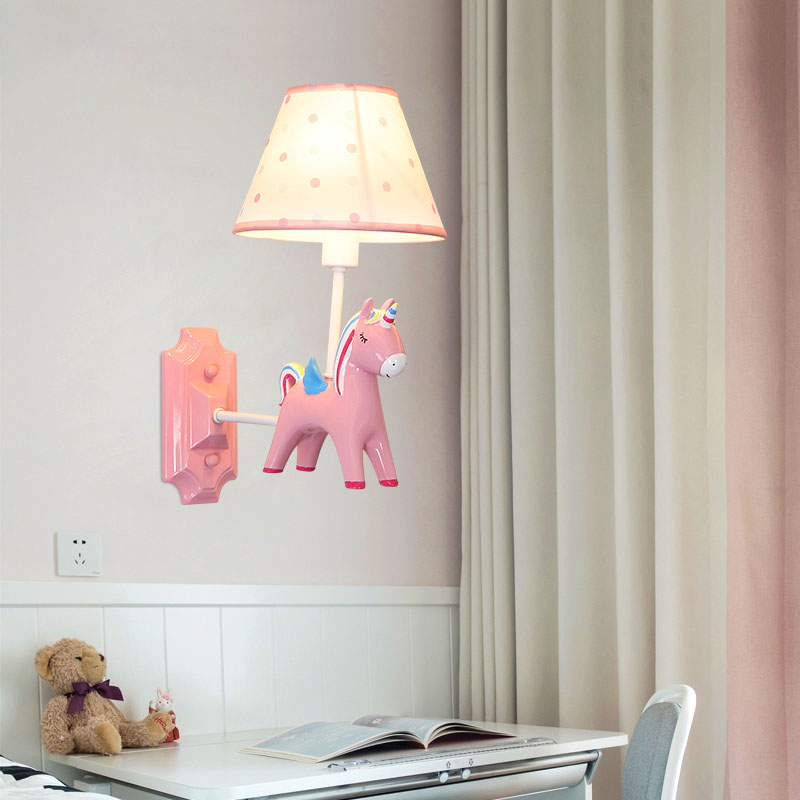 os olhos rosa menina adoravel animal led 04