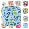 Wholesale Baby Reusable 20Pcs/Bag Diaper Cover Swim Diaper Swimsuit Nadar Fralda Training Pants Size Adjustable Baby Swim Diaper