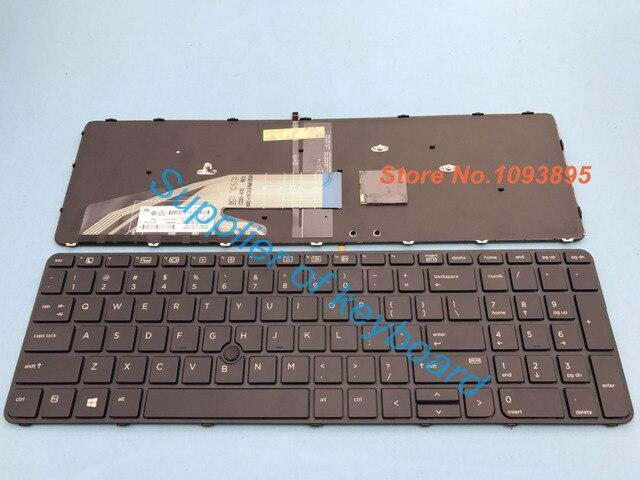 נפלאות New English keyboard For HP Probook 450 G4 455 G4 470 G4 laptop TM-46