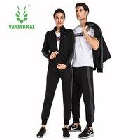 Men's Autumn Long Sleeved Women's Sportswear Jacket Leggings Lovers 3pcs