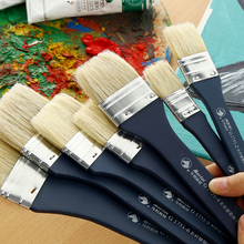 Buy BGLN 1Piece Nylon Flat Head Scrubbing Painting Brush Acrylic/Oil Painting Brush For Drawing Oil Paint Brush Art Supplies G1751 directly from merchant!