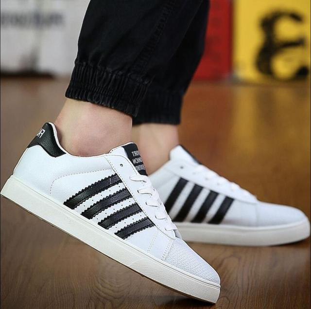 2017 nuevos hombres de moda zapatos superestrella Lace up classic blanco hombre transpirable casual chaussure homme chaussure sapatos masculino
