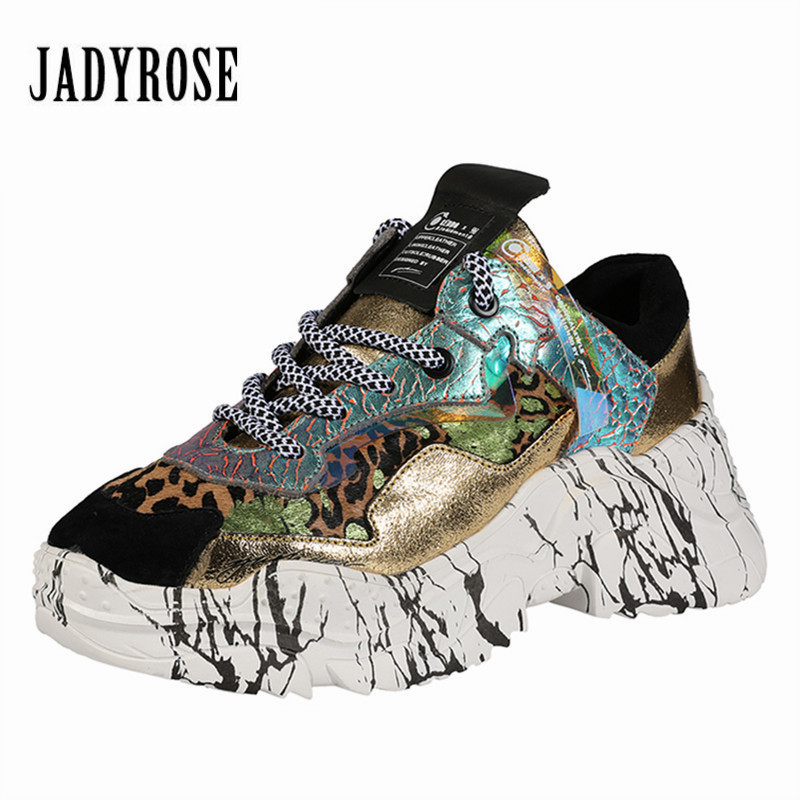 Jady Rose Patchwork Women Sneakers Lace Up Platform Shoes Casual Flat Shoes Woman Espadrilles Trainers Zapatos Mujer CreepersJady Rose Patchwork Women Sneakers Lace Up Platform Shoes Casual Flat Shoes Woman Espadrilles Trainers Zapatos Mujer Creepers