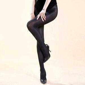 Image 5 - Trajes de baile de Jazz para mujer, Sexy, club nocturno, cantante, escenario, Beyonce, rendimiento, pantimedias gruesas y brillantes, reflectantes, DN1661