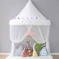 Kids Dream Teepee Tent Cotton Room Decoration For Children Canopy Bed Curtains For Baby Tipi With