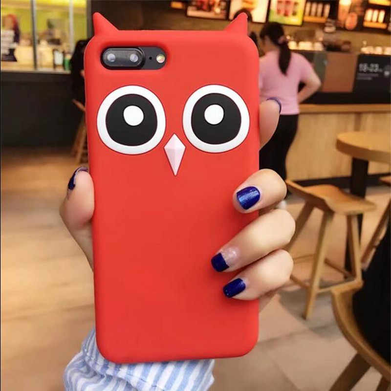 3D Hoạt Hình Silicone Mềm Dành Cho Samsung Galaxy Samsung Galaxy S6 S7 Edge S8 Plus S8 + Grand Prime A3 A5 A510 a7 J3 J5 J7 2016 2017 EU Bao