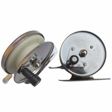 New Aluminum Alloy High Speed Fishing Reels Saltwater Sea Ice Simple Fishing Spinning Reels Gear Cheap Hand Wheel Fishing Reels