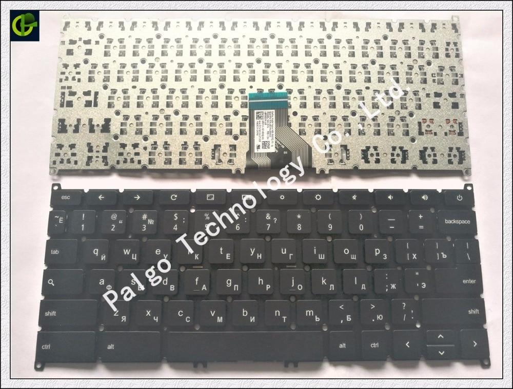 Russian keyboard for ACER Chromebook C720 C720P C720 2848 C720P 3871 C730 C730E C740 RU black 9Z