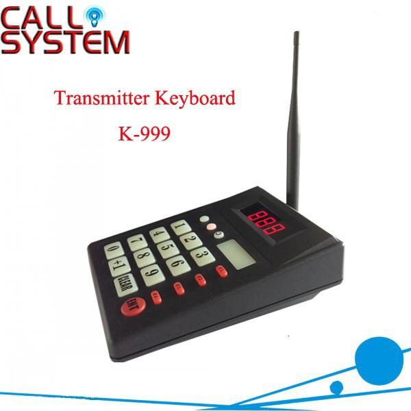 K-999 transmitter keypad