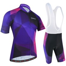 цены BXIO Men's Summer Cycling Clothing with Bib Shorts MTB Bike Jerseys Short Sleeve Cycling Jerseys Hombre Maillot Ciclismo 179
