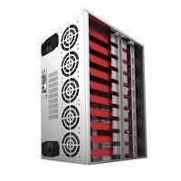 Open Air Mining Frame Rig Graphics Case ATX Fit 12 GPU Ethereum ETH ETC ZEC XMR