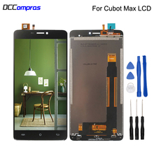 For Cubot Max LCD Display Touch Screen Digitizer Replacement Phone Parts For Cubot Max Display Screen LCD Display Free Tools цена