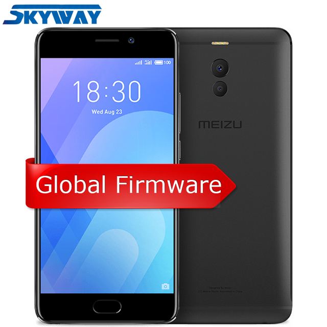 Original Meizu M6 Note 4G LTE 3GB 16GB/32GB Cell Phone Android Snapdragon 625 Octa core 5.5'' Dual PD Camera 4000mAh Fingerprint
