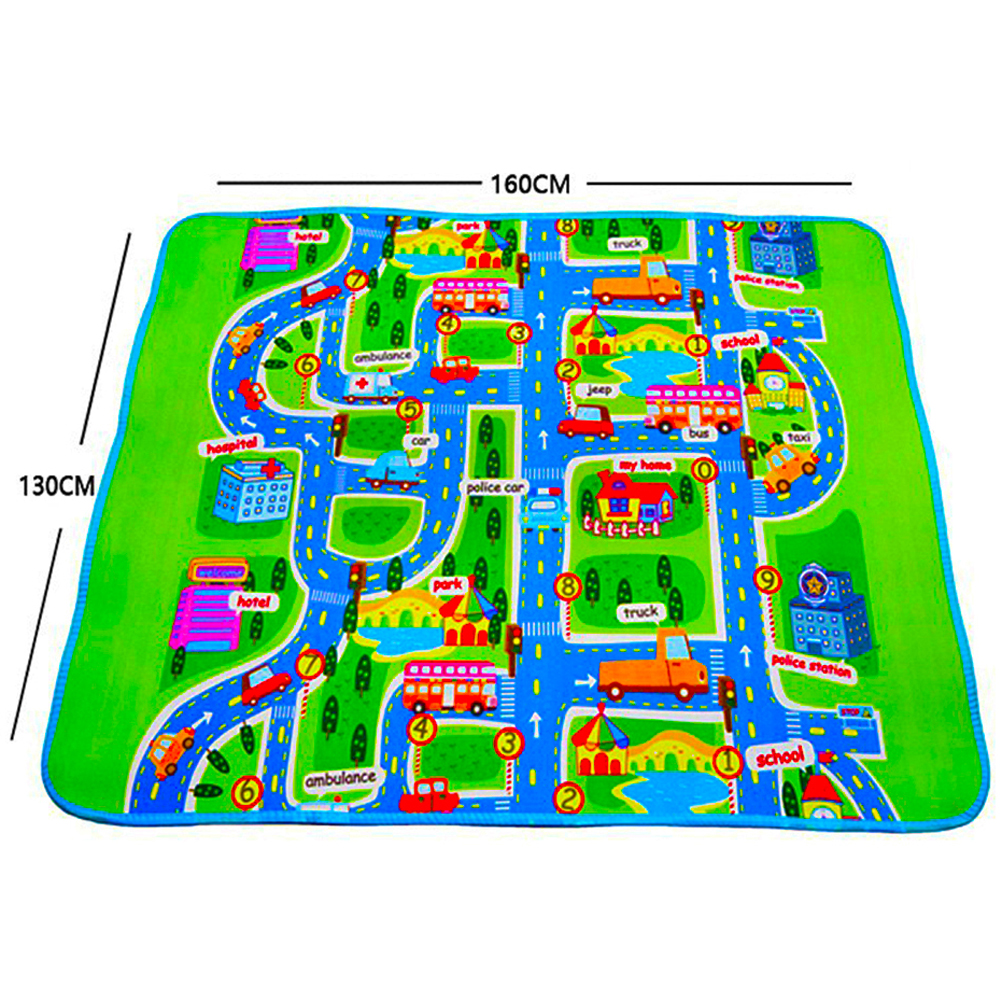 HTB14FEgEWSWBuNjSsrbq6y0mVXac 4 sizes Thick Town City Blanket Traffic Baby Crawling mat EVA Foam Climbing Pad Green Road Child Play Mat Carpet for Baby