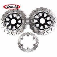 ARASHI дисковый тормоз для HONDA X одиннадцать 1100 2000 20001 2002 2003X1100 ELEVEN спереди ротор заднего тормоза CBR1100XX 1997 2007