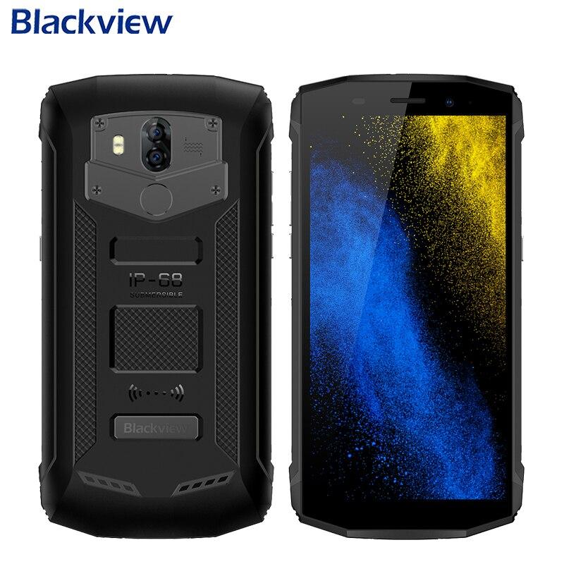 Blackview BV5800 Waterproof IP68 Mobile Phone 5.5 HD+ 2GB+16GB MTK6357 Quad Core Android 8.1 Dual Camera 5580mAh NFC Smartphone