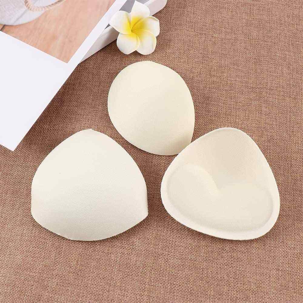 2019 女性の胸水着アクセサリーシリコーンブラジャーパッド乳首カバーステッカーパッチ挿入スポンジブラジャー
