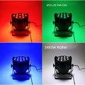(4pcs) LED PAR Can Light RGBW 54X3W Led Par 4/8 channels DMX Professional Lighting Indoor Stage Lights DJ Equipment Par Led