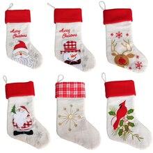 Online Get Cheap White Christmas Stocking -Aliexpress.com ...