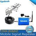 Лучшая Цена! CDMA 850 МГц Репитер Сигнала Мобильного Телефона, CDMA 850 МГц Усилитель Сигнала Сотового Телефона Усилитель + Антенна с Кабелем