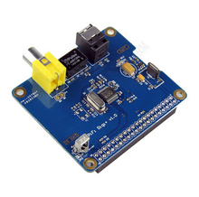 HIFI DiGi+ Digital Sound Card I2S SPDIF Optical Fiber for Raspberry pi 2 model B / B+ / A+