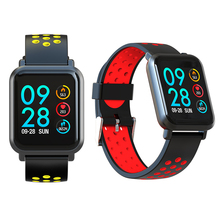 2.5D Smartwatch Waterpoof Blood Pressure Oxygen Monitor Fitness Heart rate Smart Watch Activity Tracker For Iphone Android