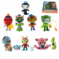New arrival Original Genuine Octonauts dolls 8 style cute Captain Barnacles Medic Peso action figure educational kids toys gift