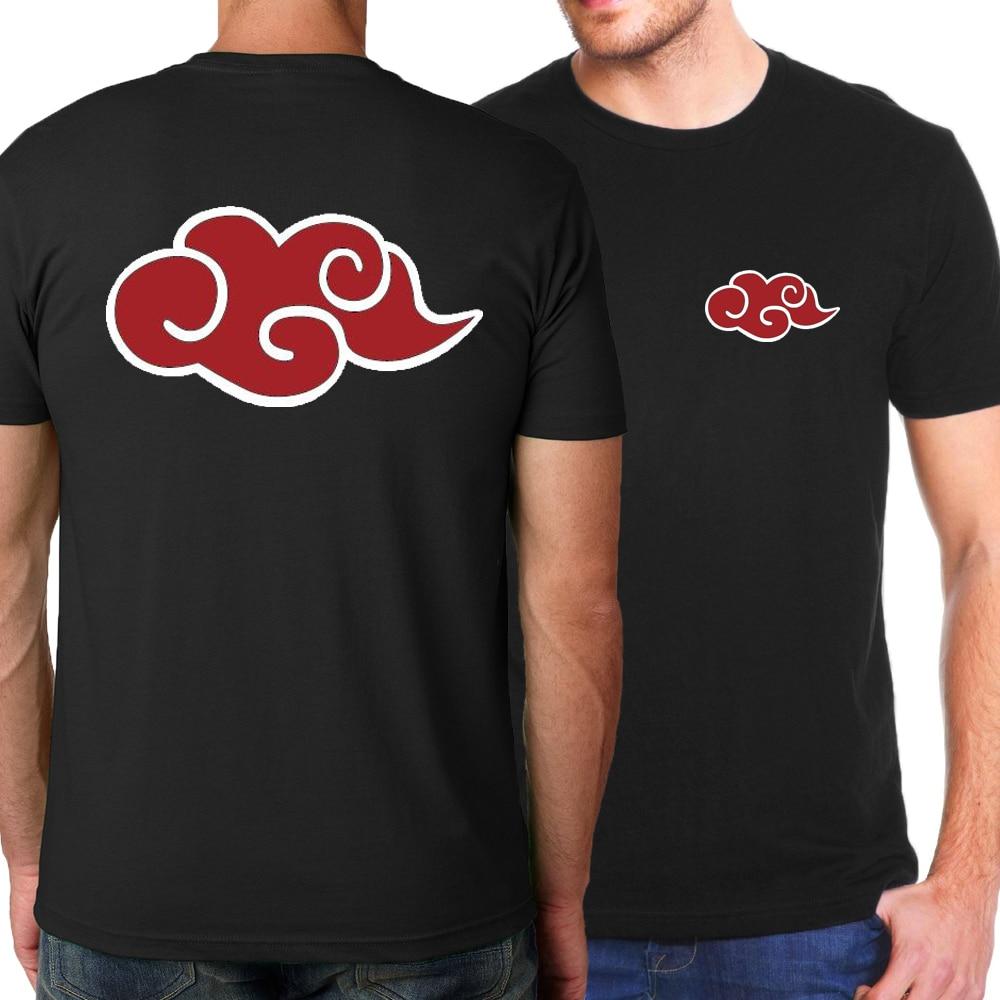 2018 Summer Hot Naruto Uzumaki Naruto Men T-Shirts Japanese Anime Pokemon T Shirts Men 100% Cotton Loose Brand-Clothing