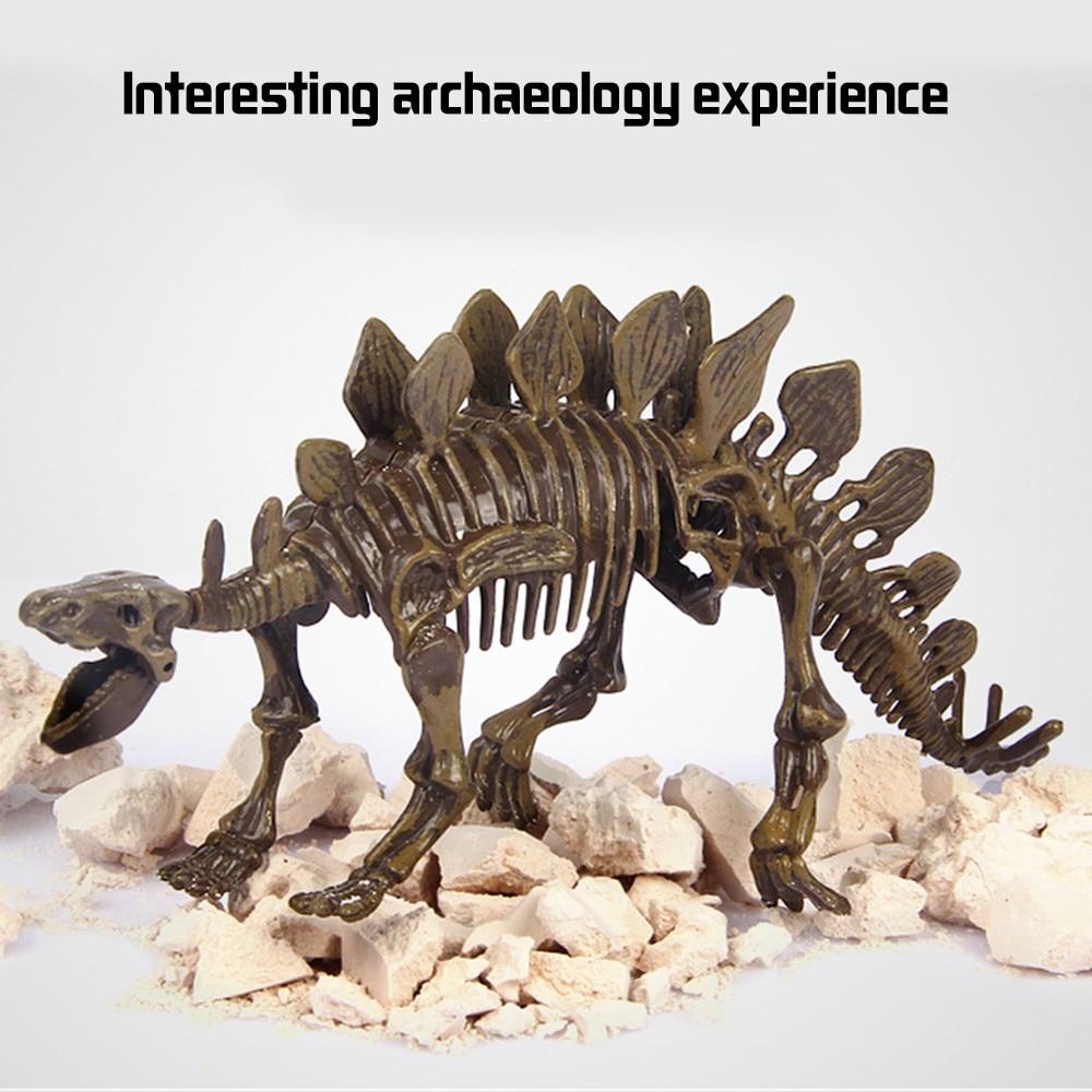 Triceratops Fossil Dinosaur Skeleton Kit /& Skull Mould Educational Toy Science