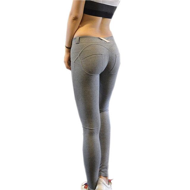 Mujeres Sexy Push Up Polainas 2016 Ropa Deportiva Mujer Fitness Leggins Alta Elásticas Melocotón Hip Jegging