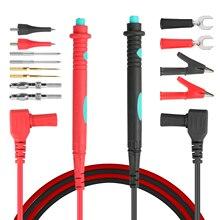 14Pcs Elektronische Specialiteiten Test Lead Kit Automotive Test Probe Kit Multimeter Probe Leads Kit Banana Plug Voor Multimeters
