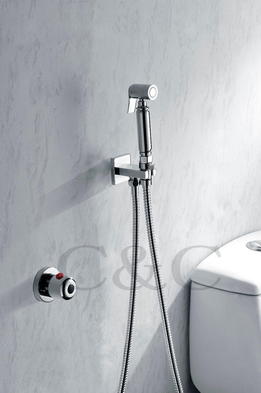 Bidet wc dusche