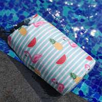 10L Flamingo Waterproof Bag Backpack Swimming Bags Dry Bag Outdoor Sport Storage Bag Women Travel Pouch River Trekking Drifting
