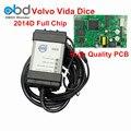 Alta QualityFor 2014D Volvo Vida Dice Ferramenta de Diagnóstico Chip Full Placa PCB verde Para Volvo Dice Pro Vida Dice Com Multi-Idioma