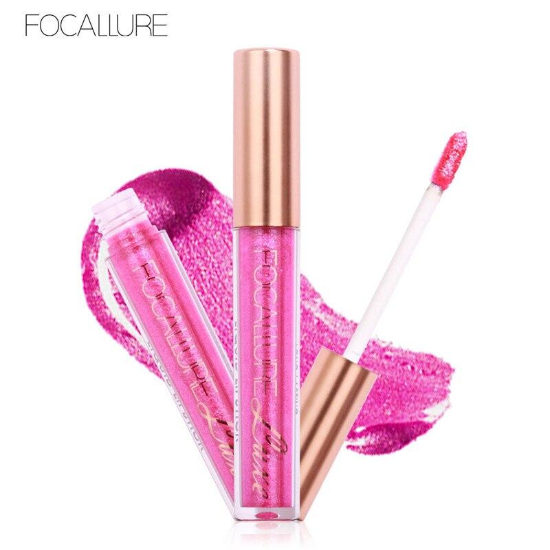 FOCALLURE 10 Colors Liquid Matte Lipstick Cosmetics Makeup Chameleon Liquid LipsticksLip Gloss Stick Make Up Lips