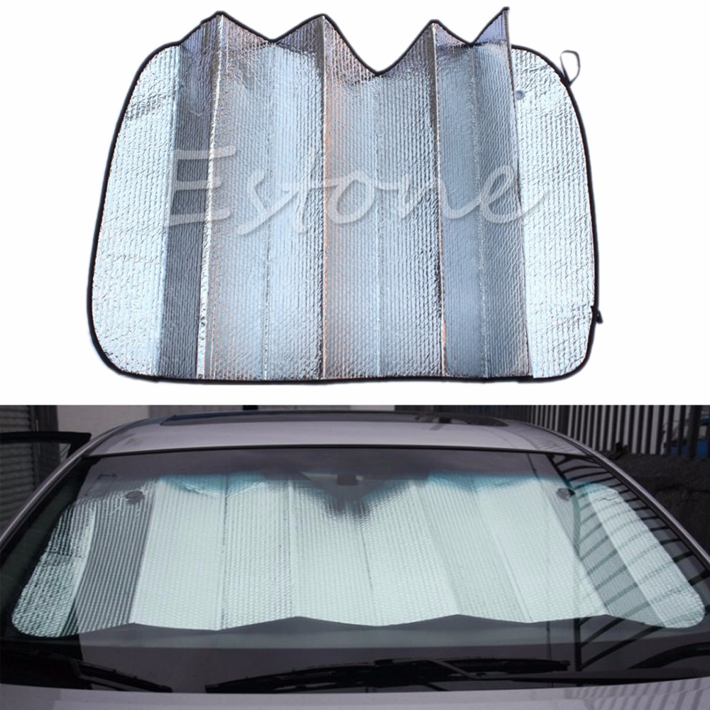 1PC Foldable Auto Front Rear Window Sun Shade Car Windshield Visor Cover New