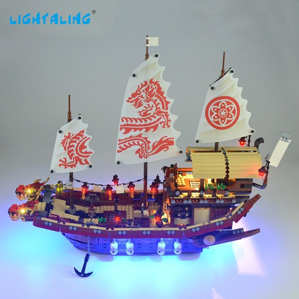 LIGHTALING Led Light Kit Ninja Temple Of Airjitzu Light Set Compatible With 70618 And 06057 NOT