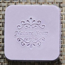 Natural soap stamps Handmade soap seal chapter Custom made Resin soap stamps
