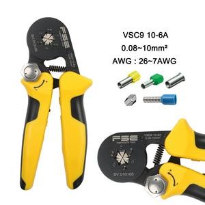 Image 2 - Обжимные клещи VSC8 6 4A VSC9 10 6A VSC10 16 4A 0,08 10 мм2 AWG 23 7, Обжимные Щипцы, обжимные клещи для трубки, обжимные клеммы, ручной инструмент