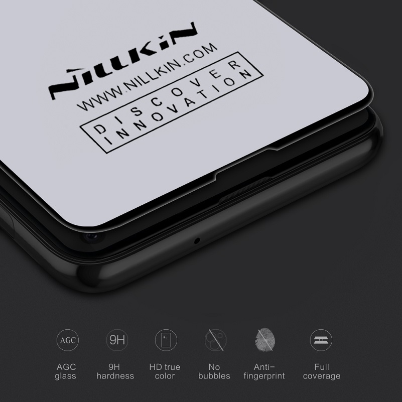Image 4 - Nillkin For samsung galaxy s10/s10 plus/s10e tempered glass screen protector fully covered 3D CP+ Max 9H 0.33mm 5.8/6.11/6.4-in Phone Screen Protectors from Cellphones & Telecommunications