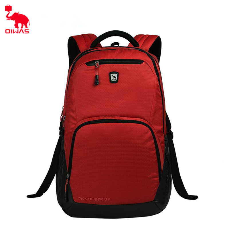 Oiwas 24L Super Light Laptop Business Backpack Waterproof Shockproof School Backpack Multi-function Unisex 7 Colors цена